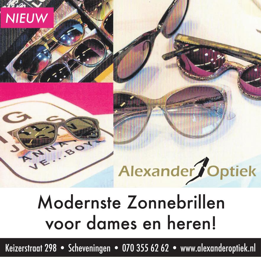 Modernste zonnebrillen voor Dames en Heren!